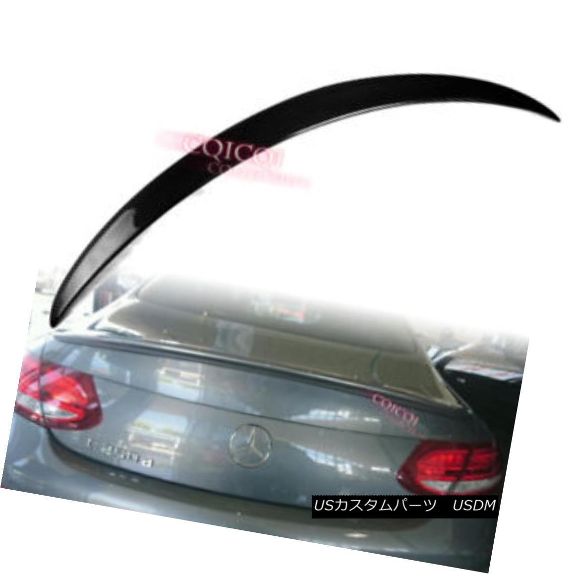 エアロパーツ Carbon Fiber MERCEDES BENZ 16~18 C205 C class coupe A type trunk spoiler ◎ 炭素繊維MERCEDES BENZ 16?18 C205 Cクラスクーペタイプのトランク・スポイラー?