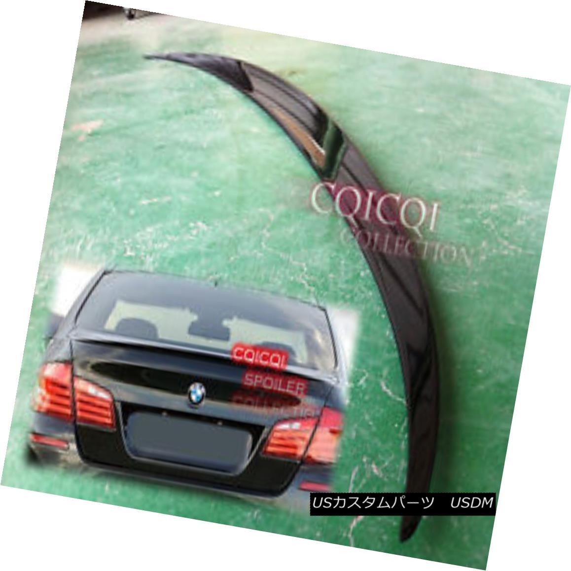 エアロパーツ Painted BMW 11~16 F10 5-series Sedan M5 type trunk spoiler color:668 Black ◎ ペイントされたBMW 11?16 F10 5シリーズセダンM5タイプトランクスポイラーカラー:668ブラック?