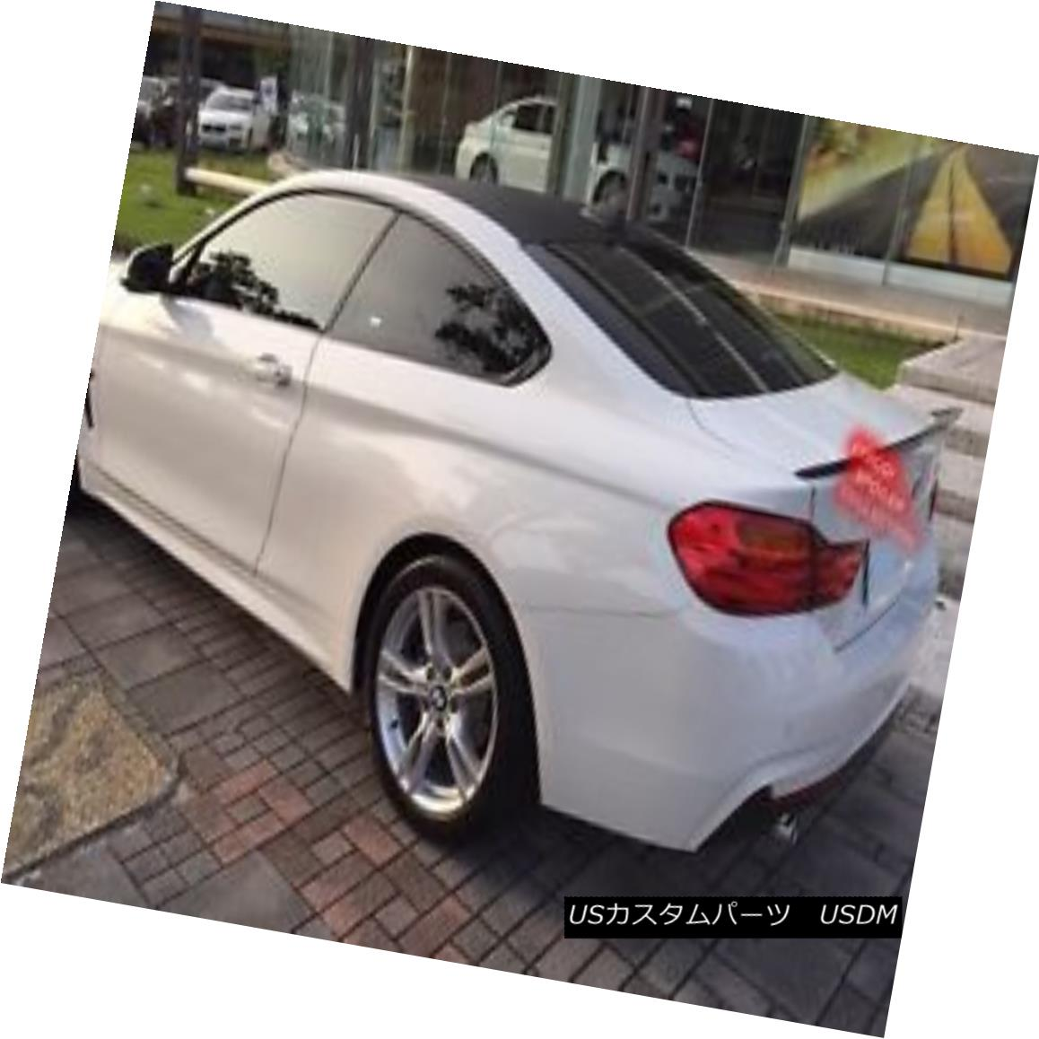 エアロパーツ Painted BMW F32 4-series coupe performance type trunk spoiler color:668 ◎ ペイントされたBMW F32 4シリーズクーペパフォーマンスタイプのトランクスポイラーの色:668?