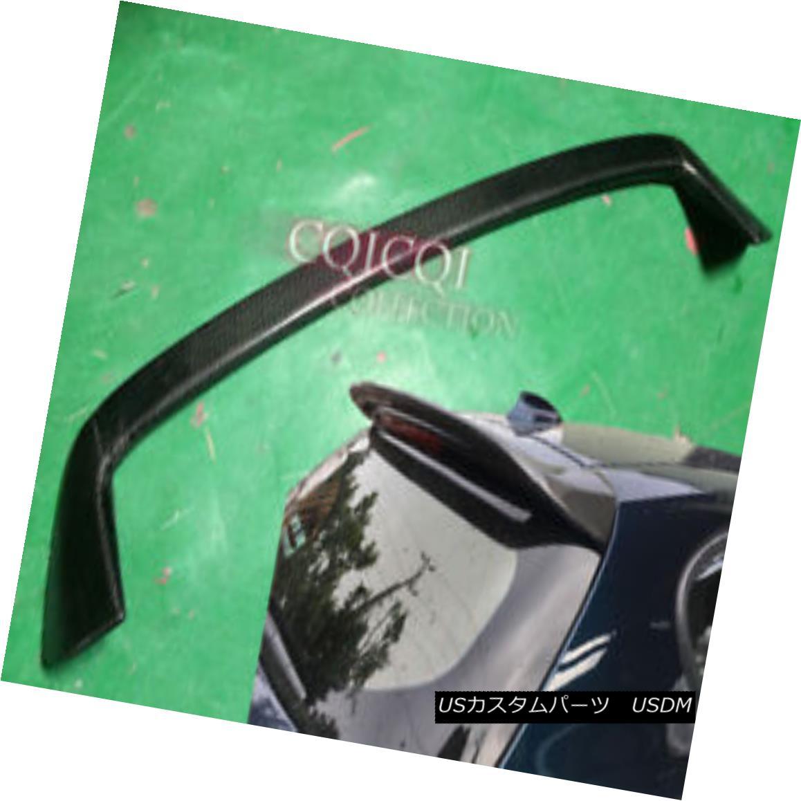 エアロパーツ Carbon BMW 12~17 F20 F21 1-series hatchback 3Door 5Door AC type roof spoiler ◎ カーボンBMW 12?17 F20 F21 1シリーズハッチバック3Door 5ドアACタイプのルーフスポイラー?