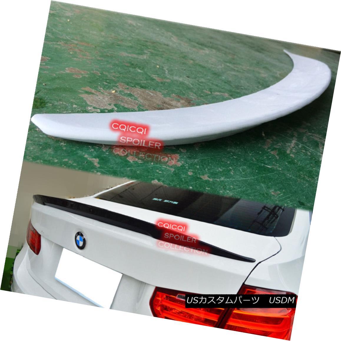 エアロパーツ Painted BMW F30 3 Sedan high kick Performance type trunk spoiler color:475 ◎ ペイントされたBMW F30 3セダンハイキックパフォーマンスタイプのトランクスポイラーの色:475?
