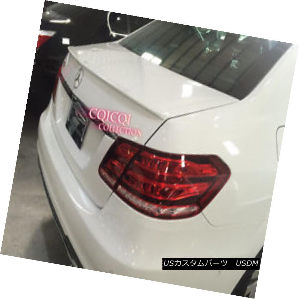 エアロパーツ Painted M-BENZ 10~16 W212 E class AMG type trunk spoiler color-799 white◎ 塗装されたMベンツ10?16 W212 EクラスAMGタイプのトランクスポイラーカラー-799ホワイト?