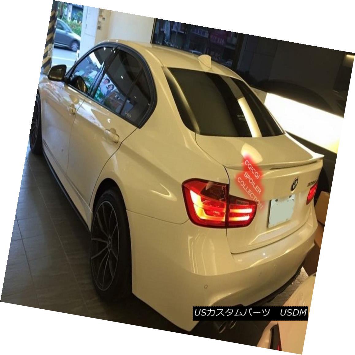 エアロパーツ Painted BMW F30 3-series Sedan Performance style trunk spoiler color-A83 ◎ ペイントされたBMW F30 3シリーズセダンパフォーマンススタイルトランクスポイラーカラーA83?