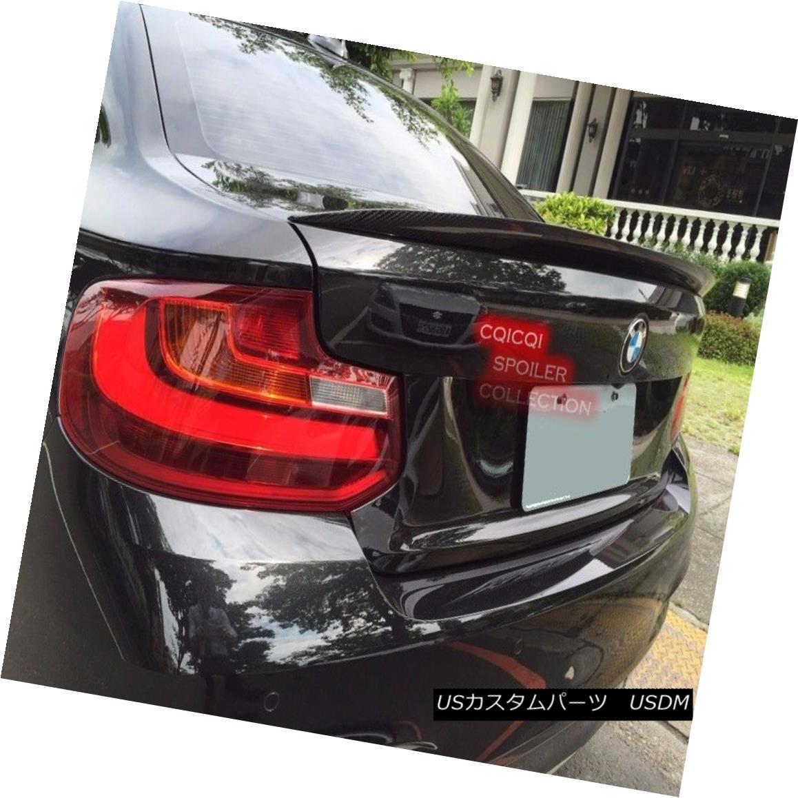 エアロパーツ Painted BMW 14~17 F22 2-series coupe performance type trunk spoiler 668 black ◎ ペイントされたBMW 14?17 F22 2シリーズクーペパフォーマンスタイプのトランクスポイラー668ブラック?