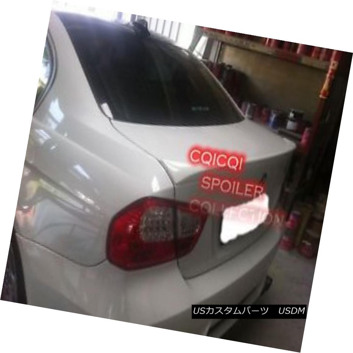 エアロパーツ Painted BMW 06~11 E90 3-series sedan OEM type trunk spoiler color:300 white◎ ペイントされたBMW 06?11 E90 3シリーズセダンOEMタイプのトランクスポイラーカラー:300白?