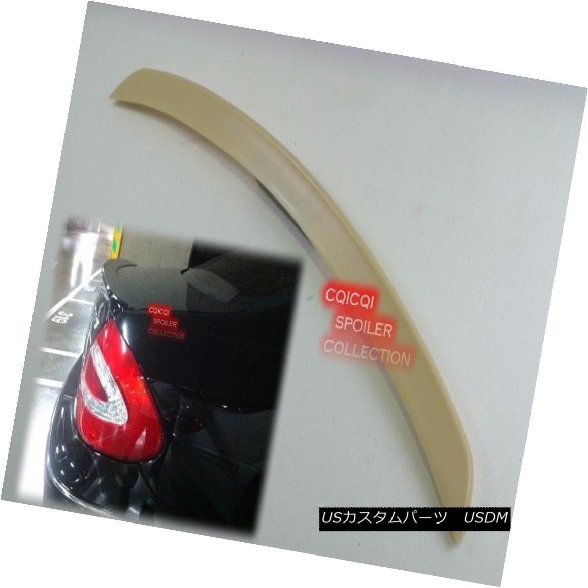 エアロパーツ Painted M-BENZ 03-09 W209 CLK Coupe AMG type trunk spoiler color:197 black ◎ ペイントされたMベンツ03-09 W209 CLKクーペAMGタイプのトランクスポイラーの色:197黒?