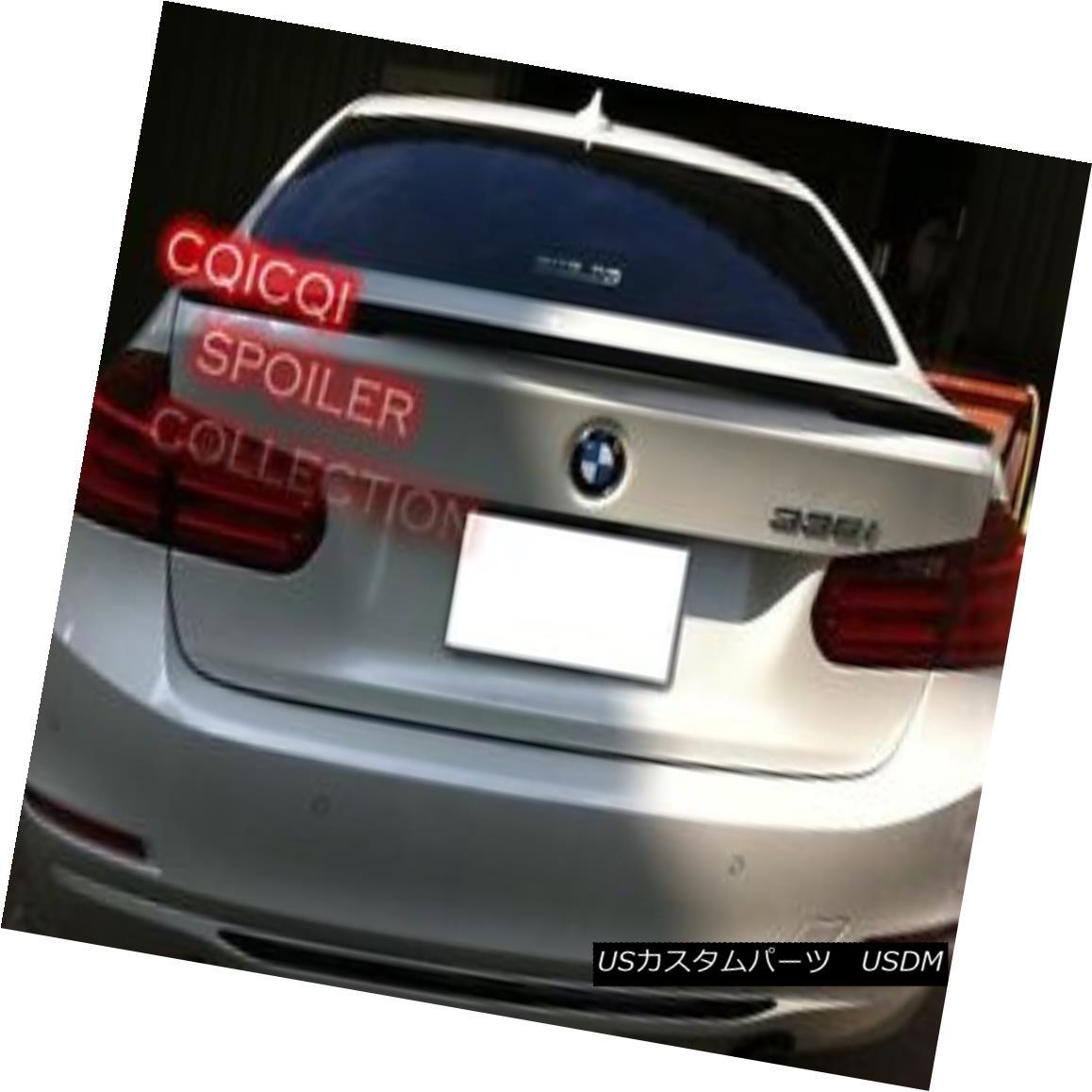 エアロパーツ Painted BMW 12~17 F30 3-series Sedan Performance style trunk spoiler color-668◎ ペイントされたBMW 12?17 F30 3シリーズセダンパフォーマンススタイルトランクスポイラーカラー668?