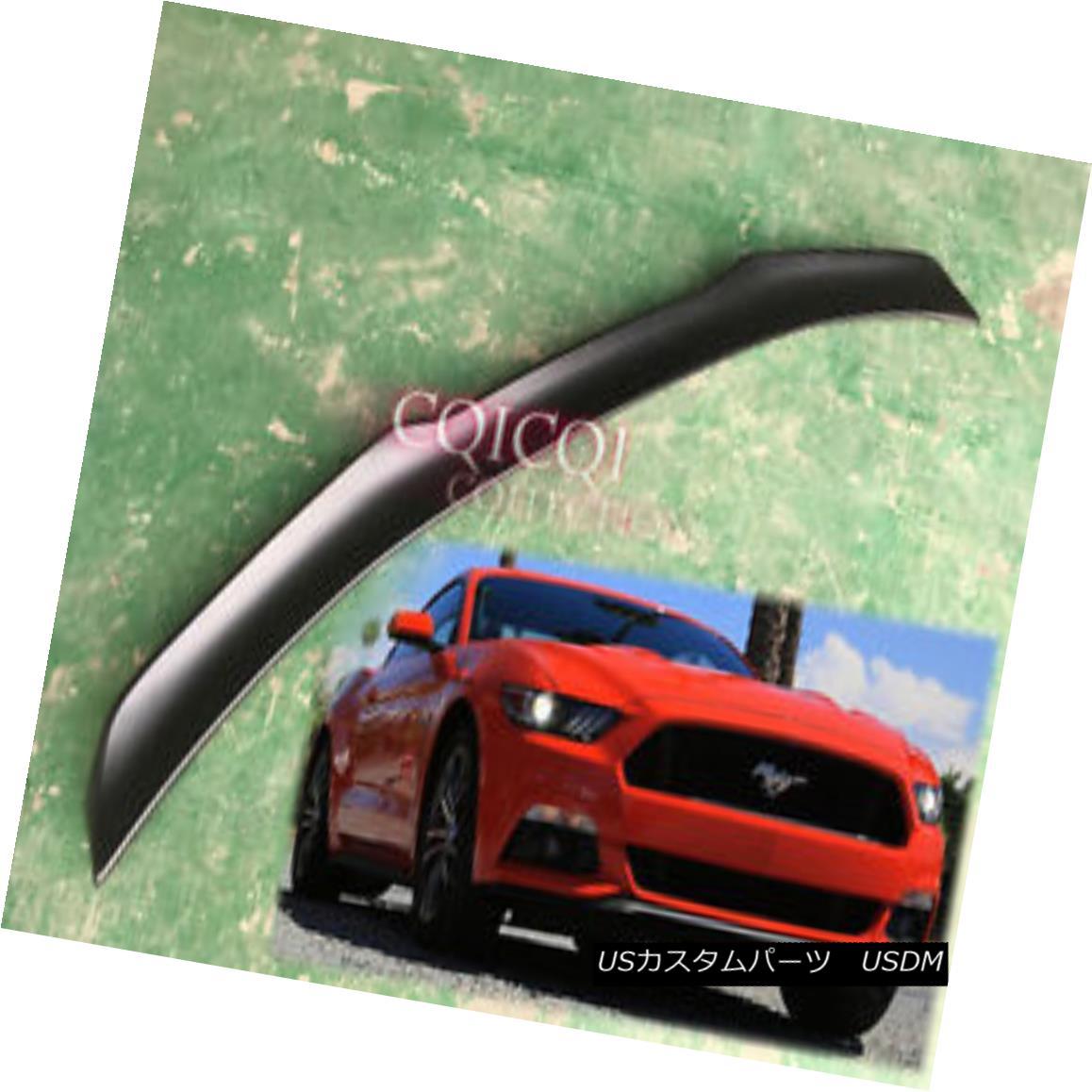 エアロパーツ Painted Ford 15-18 Mustang coupe 6th GT V type trunk spoiler All Color ◎ ペイントフォード15-18ムスタングクーペ第6 GT V型トランクスポイラーオールカラー?