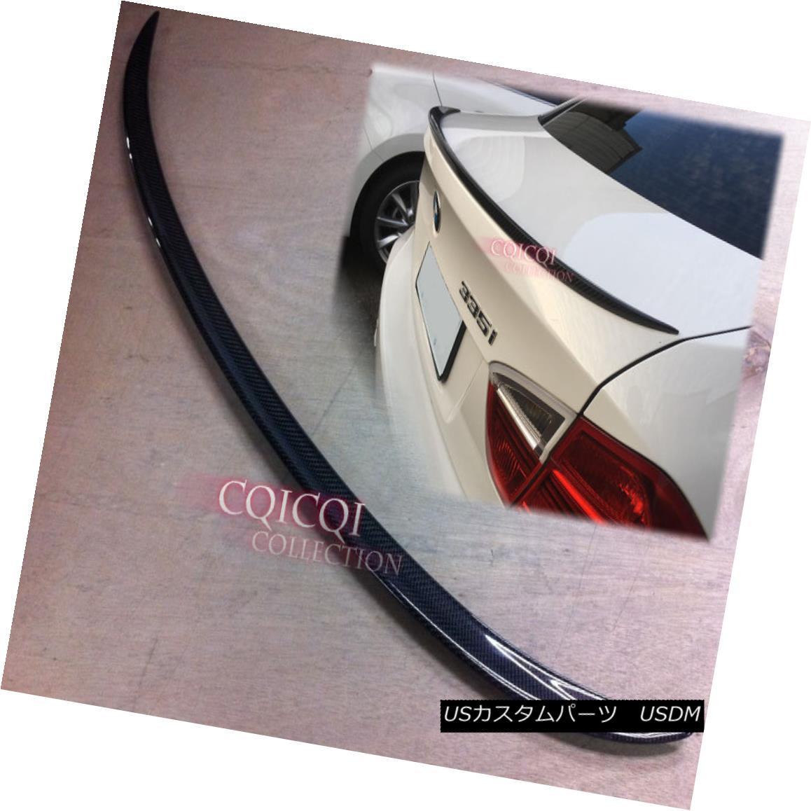 エアロパーツ Carbon Fiber BMW 2006~2011 E90 3-series Sedan M3 type trunk spoiler ◎ カーボンファイバーBMW 2006?2011 E90 3シリーズセダンM3タイプのトランク・スポイラー?