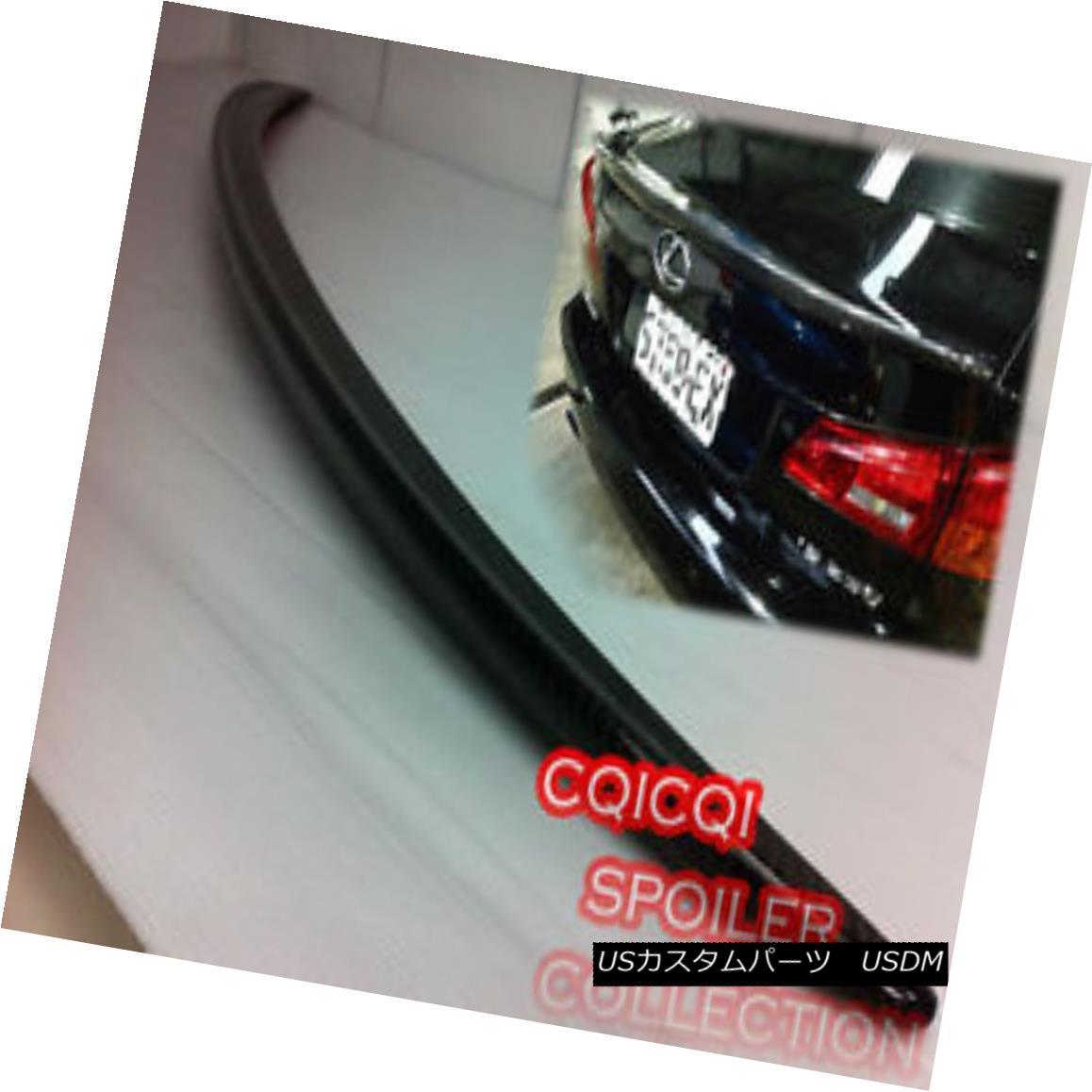 エアロパーツ Carbon Fiber OEM Type Trunk Spoiler for LEXUS 05-12 IS250 IS350 Sedan ◎ LEXUS 05-12 IS250 IS350セダン用カーボンファイバーOEMタイプのトランク・スポイラー?