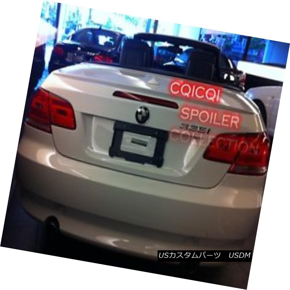 エアロパーツ Painted BMW 2007~2013 E93 3-series convertible M3 type trunk spoiler all color◎ ペイントされたBMW 2007?2013 E93 3シリーズコンバーチブルM3タイプのトランク・スポイラーは全色?