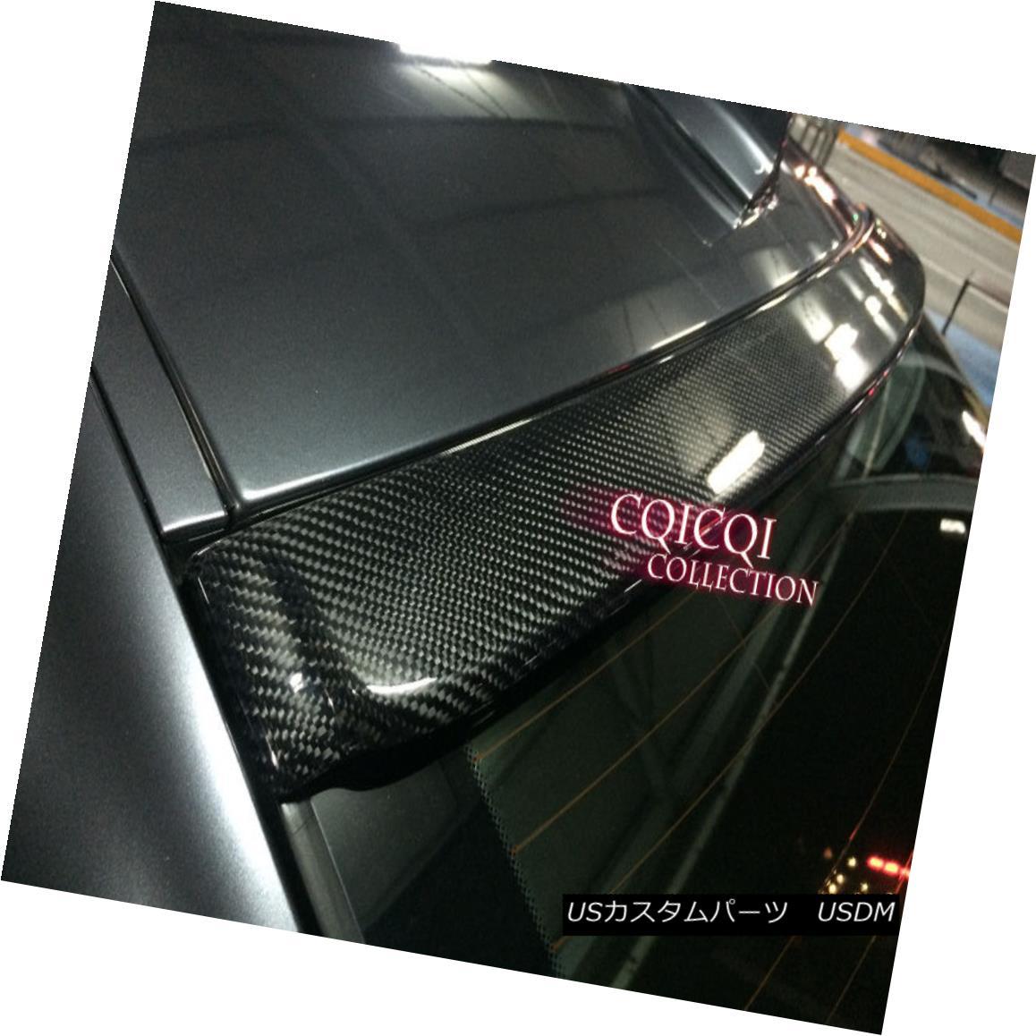 エアロパーツ Carbon BMW 06~11 E90 3-series sedan AC type roof spoiler ◎ カーボンBMW 06?11 E90 3シリーズセダンAC型ルーフスポイラー?