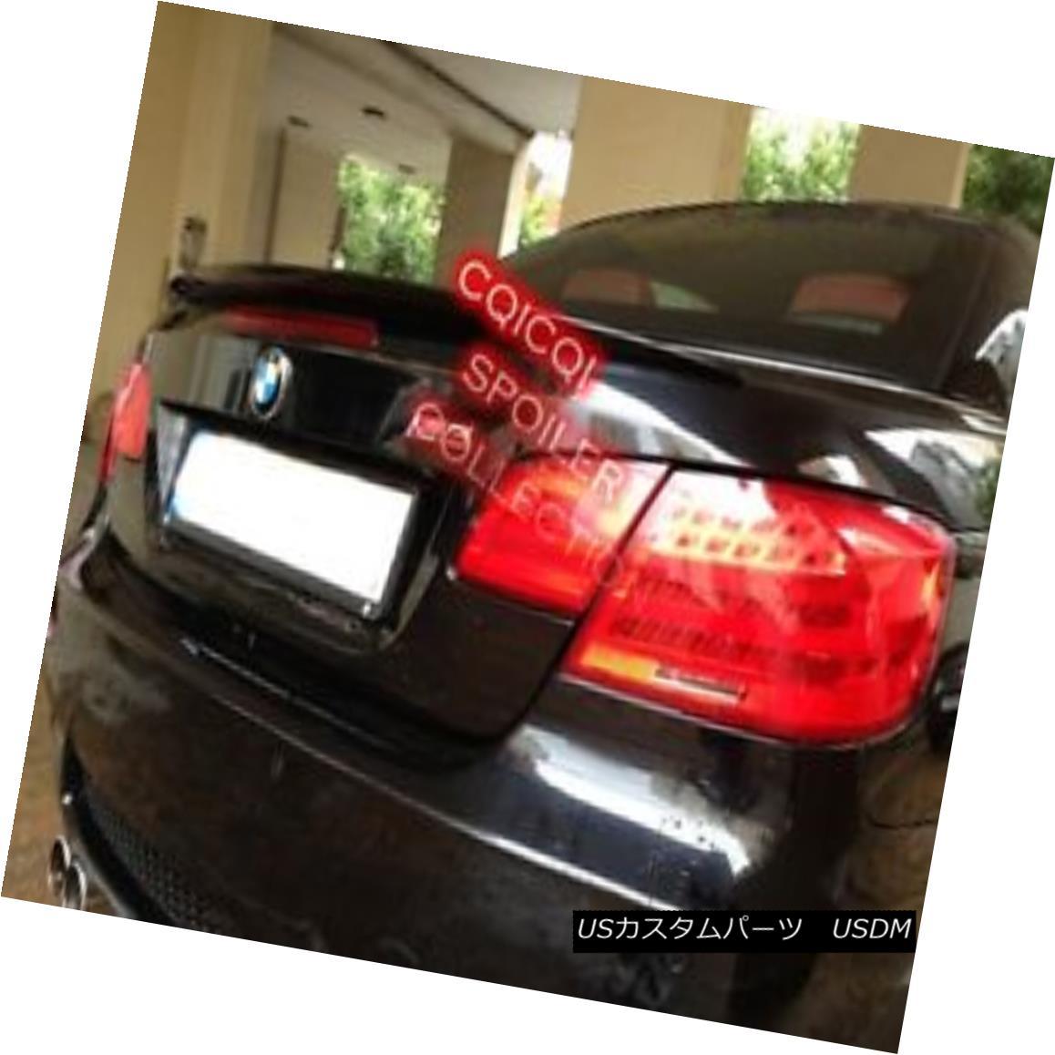 エアロパーツ Painted BMW 07~13 E93 3-series convertible Performance type trunk spoiler ◎ ペイントされたBMW 07?13 E93 3シリーズコンバーチブルパフォーマンスタイプのトランク・スポイラー?