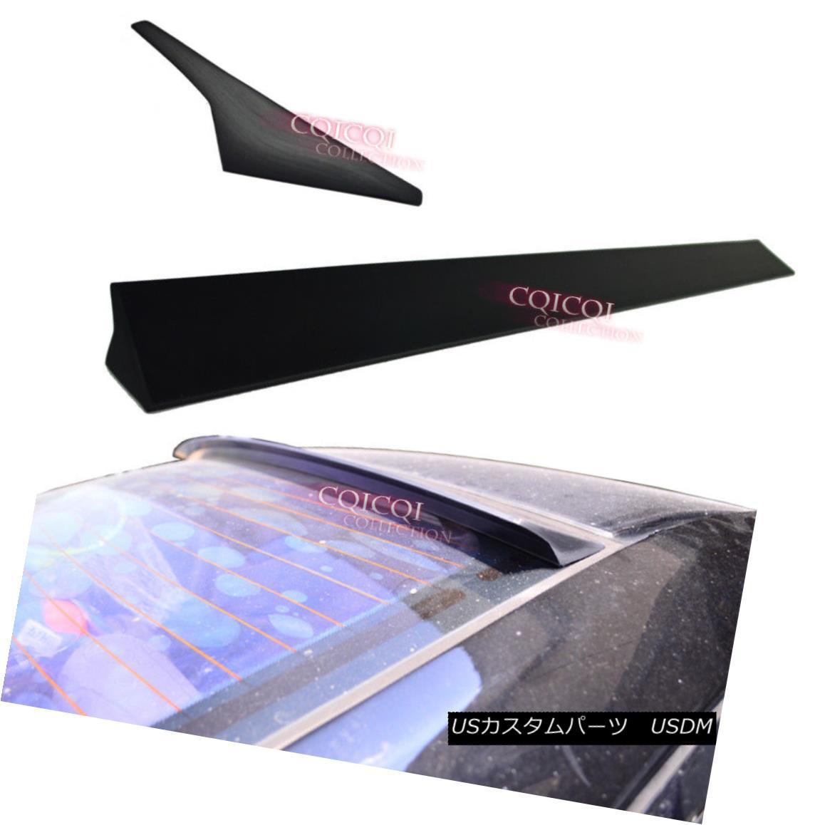 エアロパーツ Unpainted V1 type roof spoiler for Infiniti 2009~2014 G37 2D coupe G37S ◎ インフィニティ用無塗装V1タイプルーフスポイラー2009?2014 G37 2DクーペG37S?