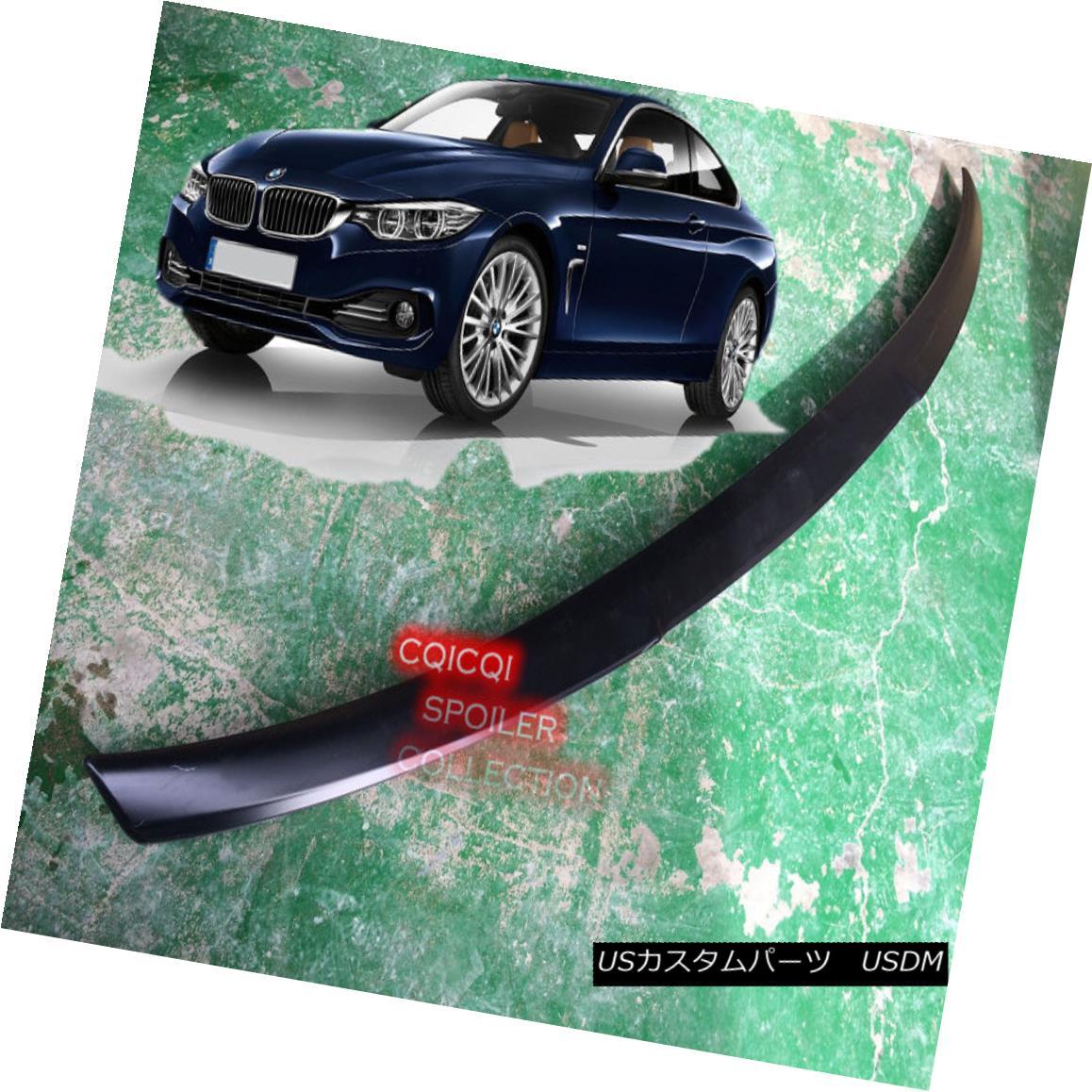 エアロパーツ Painted BMW 2014~2017 F32 4-series coupe M4 type trunk spoiler all color ◎ ペイントされたBMW 2014?2017 F32 4シリーズクーペM4タイプのトランク・スポイラーは全色?