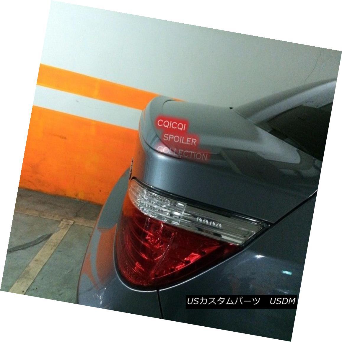 エアロパーツ Painted BMW 04-10 E60 5-series Sedan M5 type trunk spoiler color:354 Silver ◎ ペイントされたBMW 04-10 E60 5シリーズセダンM5タイプのトランクスポイラーの色:354シルバー?