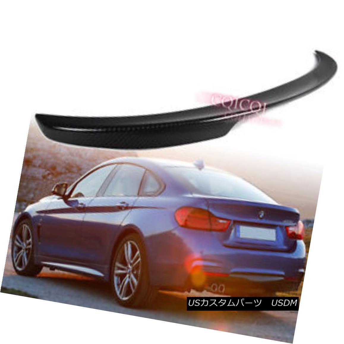 エアロパーツ Carbon Fiber BMW 14~17 F36 4-series gran coupe performance type trunk spoiler◎ 炭素繊維BMW 14?17 F36 4シリーズグランクーペパフォーマンスタイプのトランク・スポイラー?
