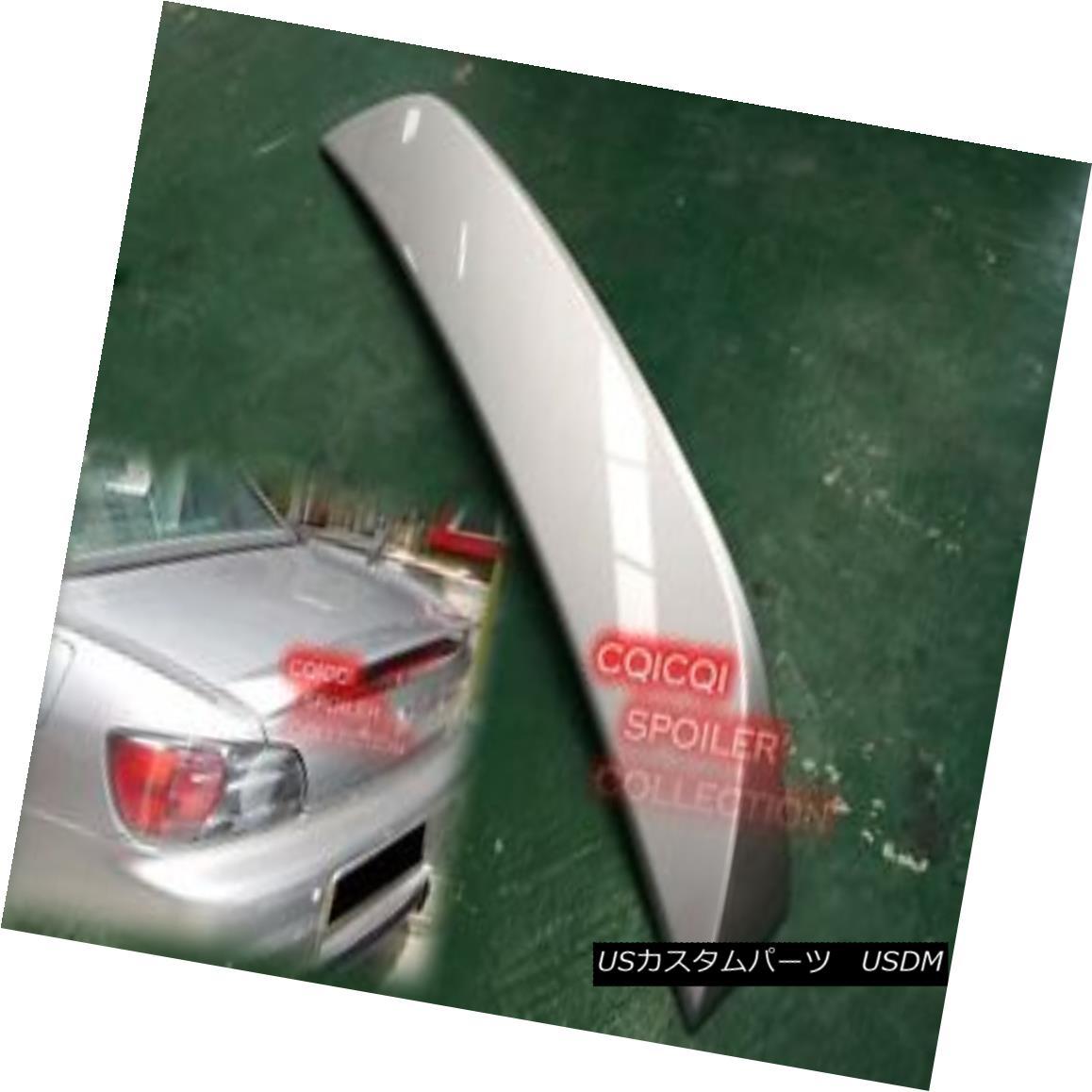 エアロパーツ Painted Honda 00-09 S2000 OEM type rear trunk spoiler color:NH745M Silver ◎ 塗装ホンダ00-09 S2000 OEMタイプの後部トランクスポイラーカラー:NH745Mシルバー?
