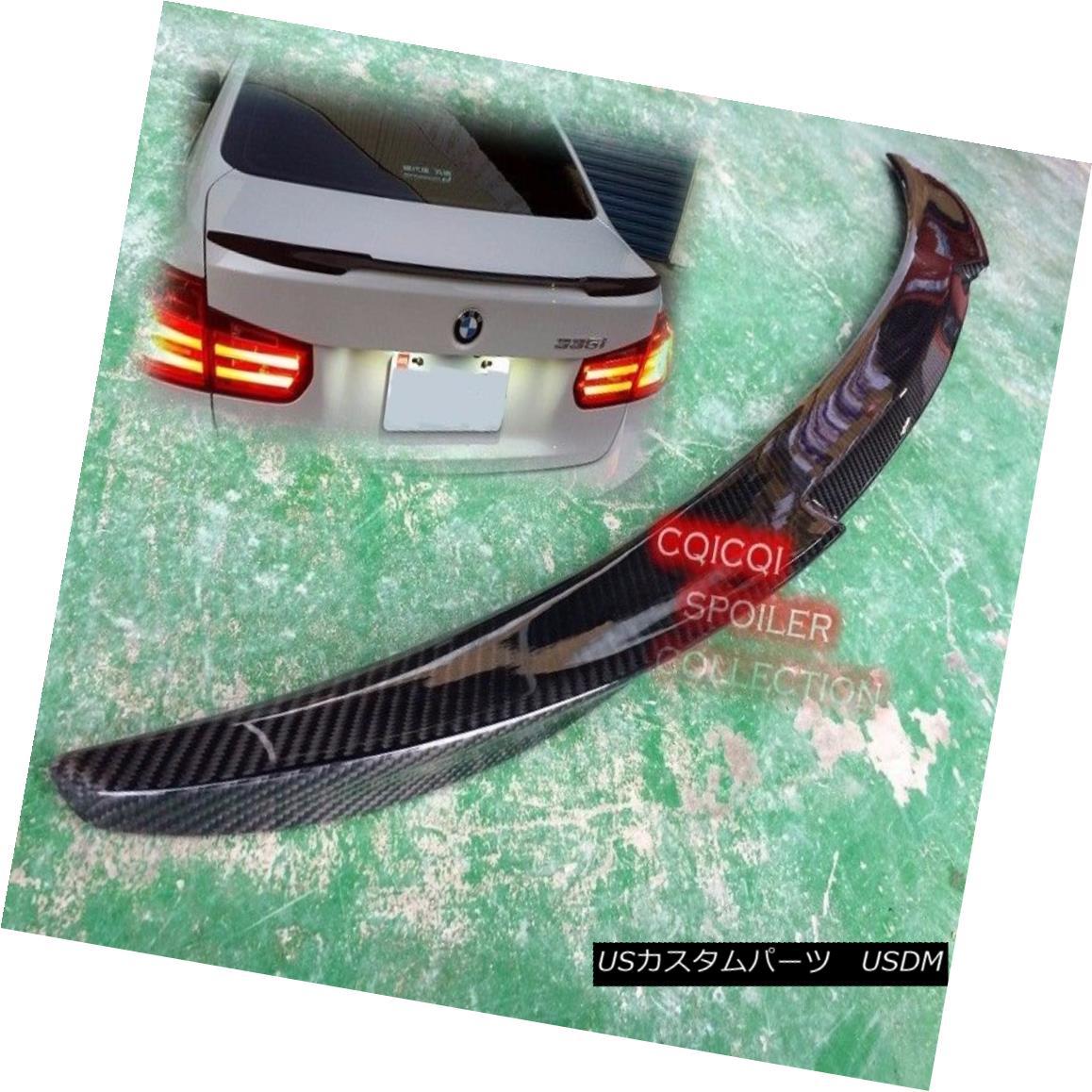 エアロパーツ Carbon Fiber BMW 2012~2017 F30 3-series Sedan F80 M3 V style Trunk Spoiler ◎ カーボンファイバーBMW 2012?2017 F30 3シリーズセダンF80 M3 V型トランク・スポイラー?