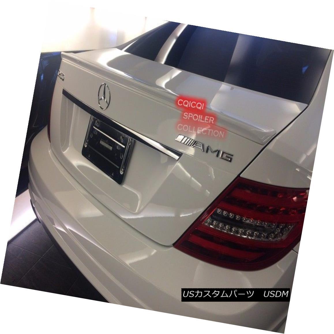 エアロパーツ Painted M-BENZ 11~16 C204 C class coupe AMG type trunk spoiler all color ◎ ペイントされたM-BENZ 11?16 C204 CクラスクーペAMG型トランク・スポイラー全色?