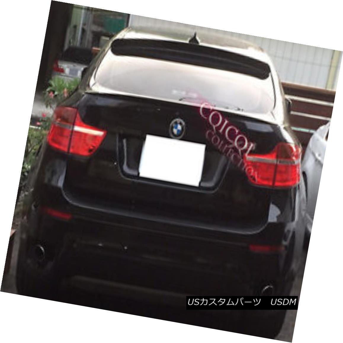 エアロパーツ Painted BMW 07-14 E71 X6 Performance type trunk spoiler color:668 Black ◎ ペイントされたBMW 07-14 E71 X6パフォーマンスタイプのトランクスポイラーの色:668黒?