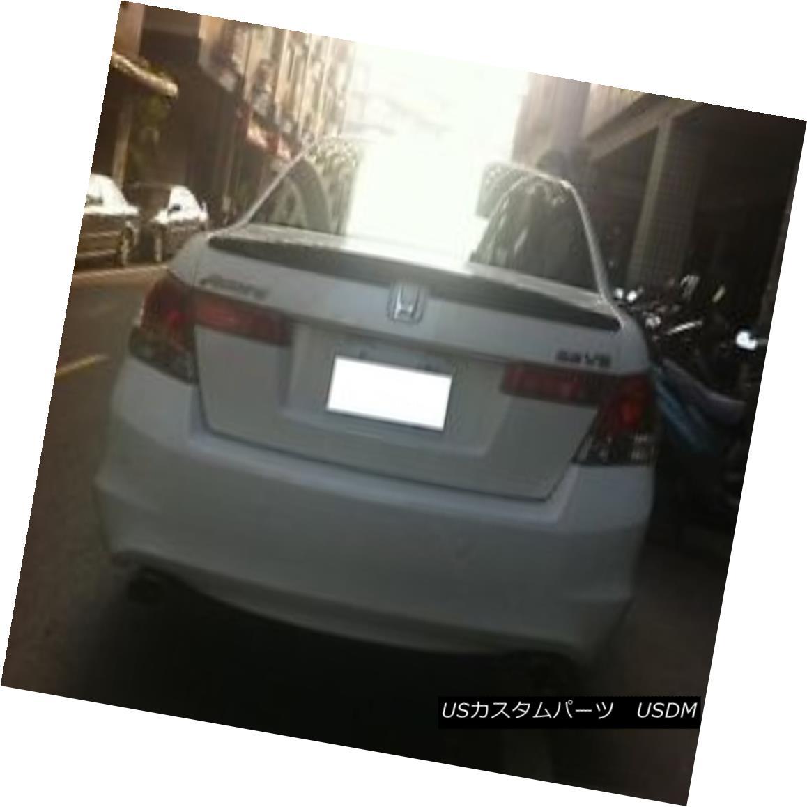 エアロパーツ Painted Honda 08-12 ACCORD Sedan OEM type rear trunk spoiler color:NH731P Black◎ 塗装ホンダ08-12 ACCORDセダンOEMタイプの後部トランクスポイラーカラー:NH731Pブラック?
