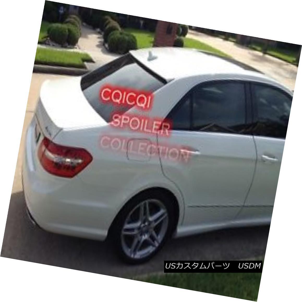 エアロパーツ Painted M-BENZ 10~16 W212 E class AMG type trunk spoiler color-650 white ◎ ペイントされたMベンツ10?16 W212 EクラスAMGタイプのトランクスポイラーカラー650ホワイト?