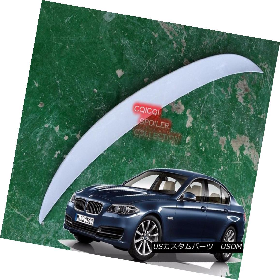 エアロパーツ Unpainted BMW 11~16 F10 5-series Sedan high kick performance type trunk spoiler◎ 未塗装のBMW 11?16 F10 5シリーズセダンハイキック性能型トランク・スポイラー?