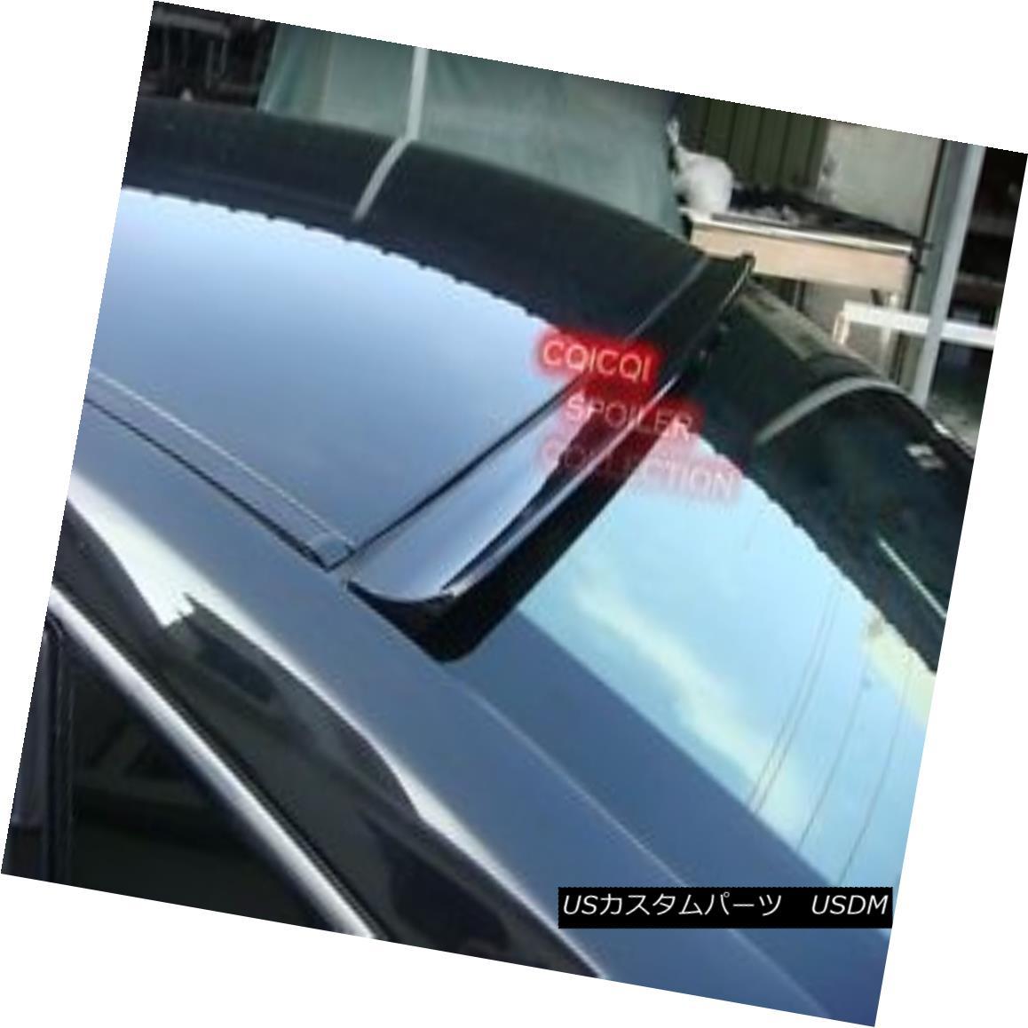 エアロパーツ Unpainted Audi 01~05 A4 S4 B6 Sedan roof spoiler ◎ 未塗装のアウディ01?05 A4 S4 B6セダンルーフスポイラー?