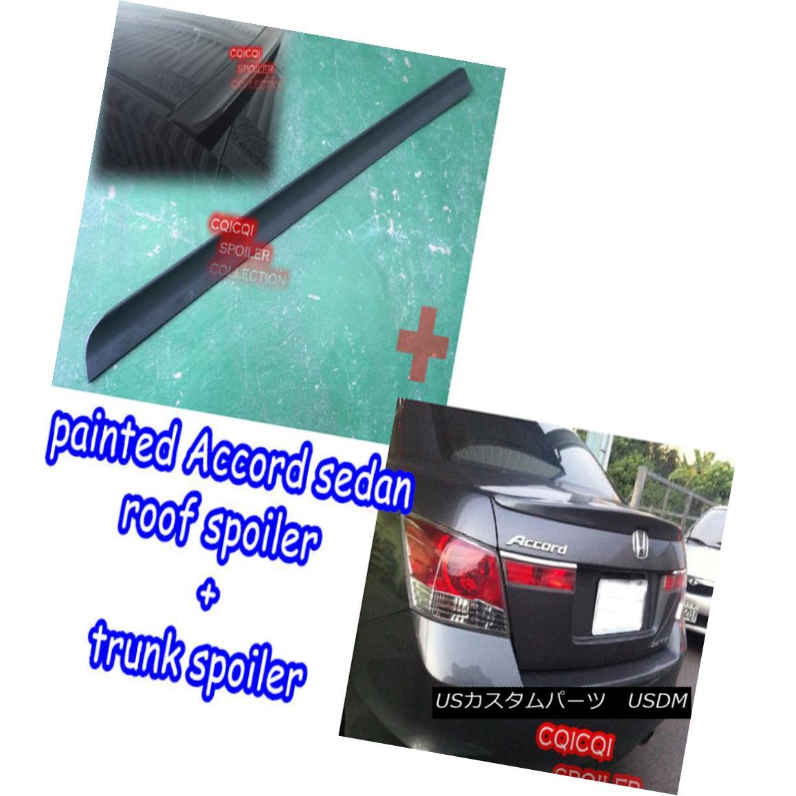 セール特価 エアロパーツ Painted Honda 08 12 Accord 8th