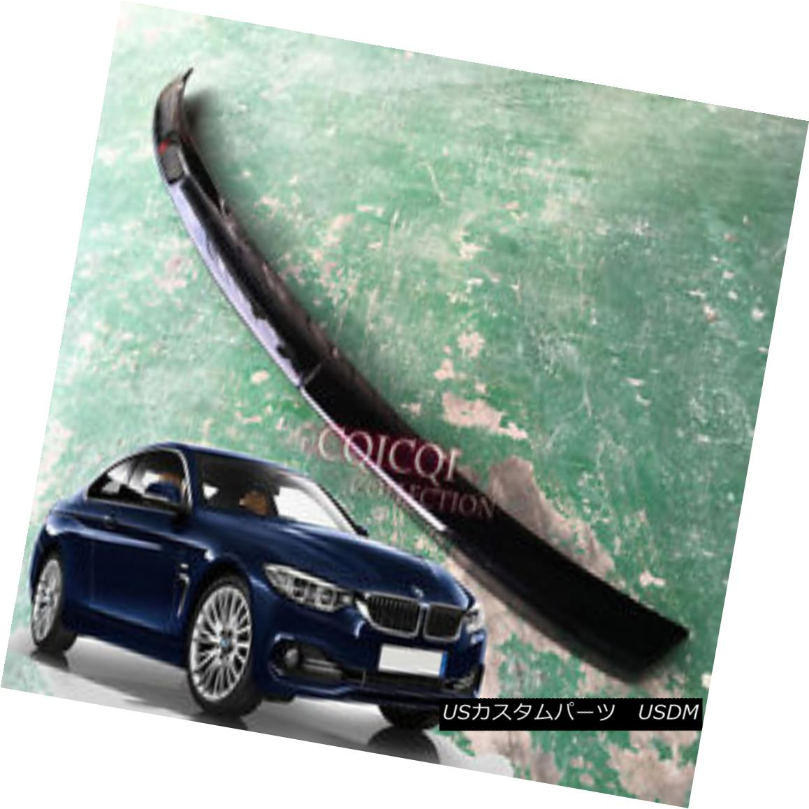 エアロパーツ Painted BMW 2014~2017 F32 4-series coupe M4 type trunk spoiler color:668 Black ◎ ペイントされたBMW 2014?2017 F32 4シリーズクーペM4タイプのトランクスポイラーカラー:668ブラック?