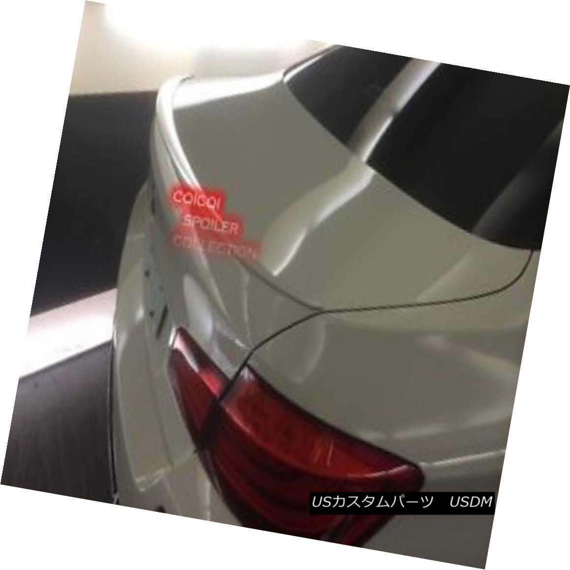 エアロパーツ Painted BMW 11~16 F10 Sedan M5 type trunk spoiler color code:300 alpine white ◎ ペイントされたBMW 11?16 F10セダンM5タイプのトランク・スポイラーカラーコード:300のアルパイン・ホワイト?