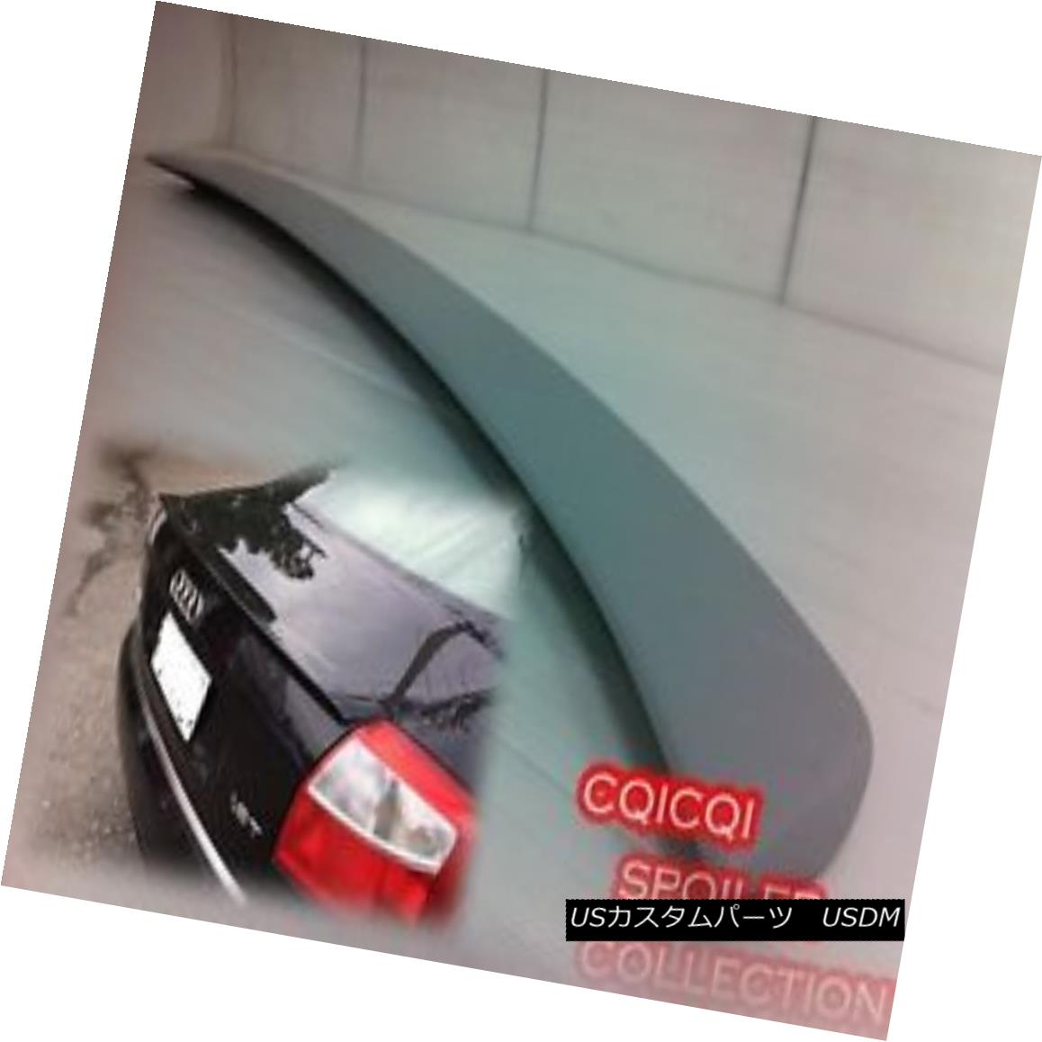 エアロパーツ Painted AUDI 02-05 A4 B6 ABT type rear trunk spoiler all color ◎ ペイントされたAUDI 02-05 A4 B6 ABTタイプの後部トランク・スポイラーは全色?