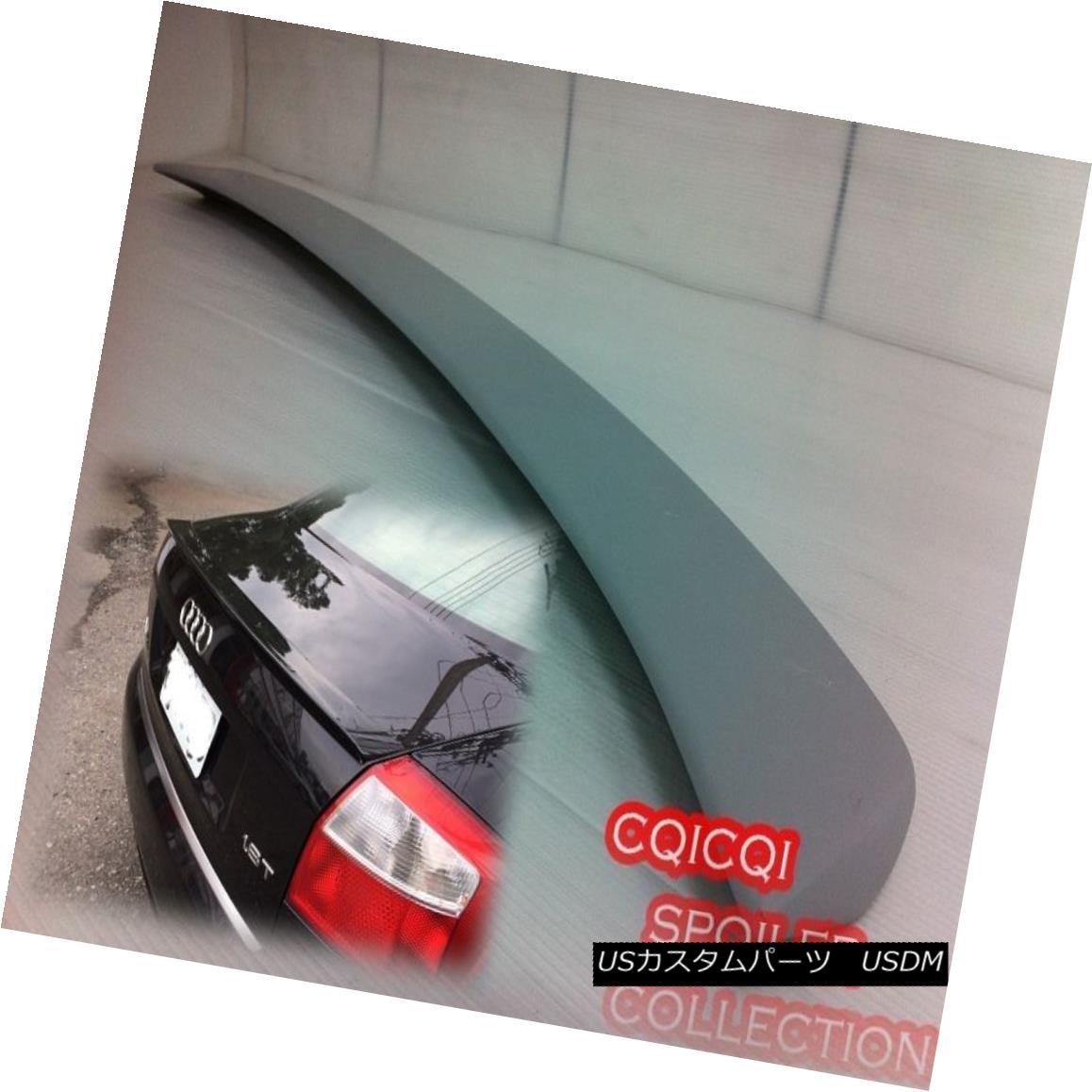 エアロパーツ Painted AUDI 02-05 A4 B6 ABT type trunk spoiler color:LX7Z Dolphin Gray ◎ ペイントされたAUDI 02-05 A4 B6 ABT型トランクスポイラーの色:LX7Zドルフィングレー?