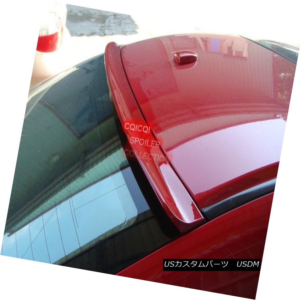 エアロパーツ Unpainted roof spoiler for Honda 06-10 Civic 2D coupe Si ◎ ホンダ06-10シビック2DクーペSiの未塗装ルーフスポイラー?
