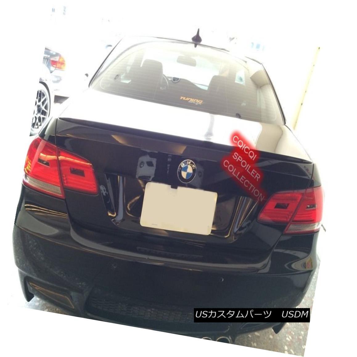 エアロパーツ Painted BMW 2007~2013 E92 3-series coupe M3 type trunk spoiler color-668 Black ◎ ペイントされたBMW 2007?2013 E92 3シリーズクーペM3タイプのトランク・スポイラーcolor-668 Black?
