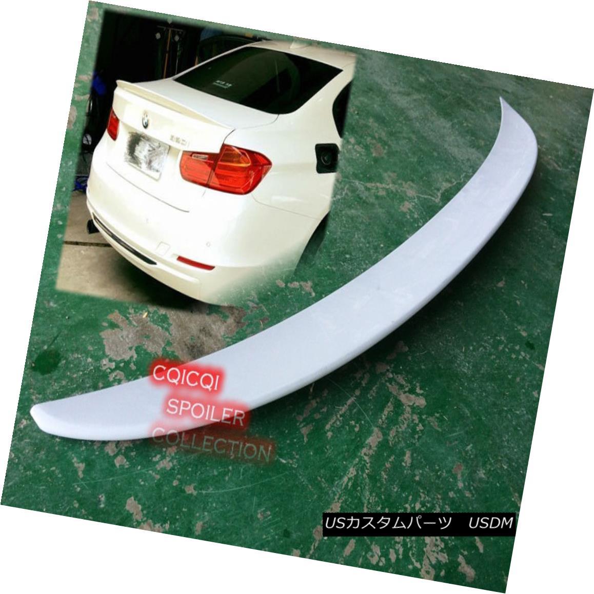 エアロパーツ Painted BMW F30 3 Sedan high kick Performance type trunk spoiler color:300 ◎ ペイントされたBMW F30 3セダンハイキックパフォーマンスタイプのトランクスポイラーの色:300?