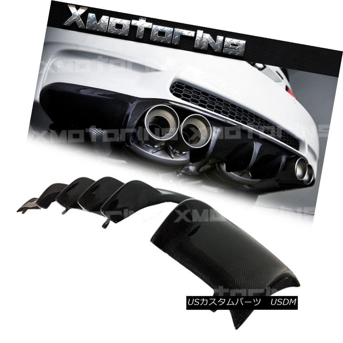 エアロパーツ AK Type Carbon Fiber Rear Bumper Diffuser For 2008-2013 BMW E93 E92 M3 Quad Tips 2008年から2013年までのAKタイプカーボンファイバーリアバンパーディフューザーBMW E93 E92 M3クワッドチップ