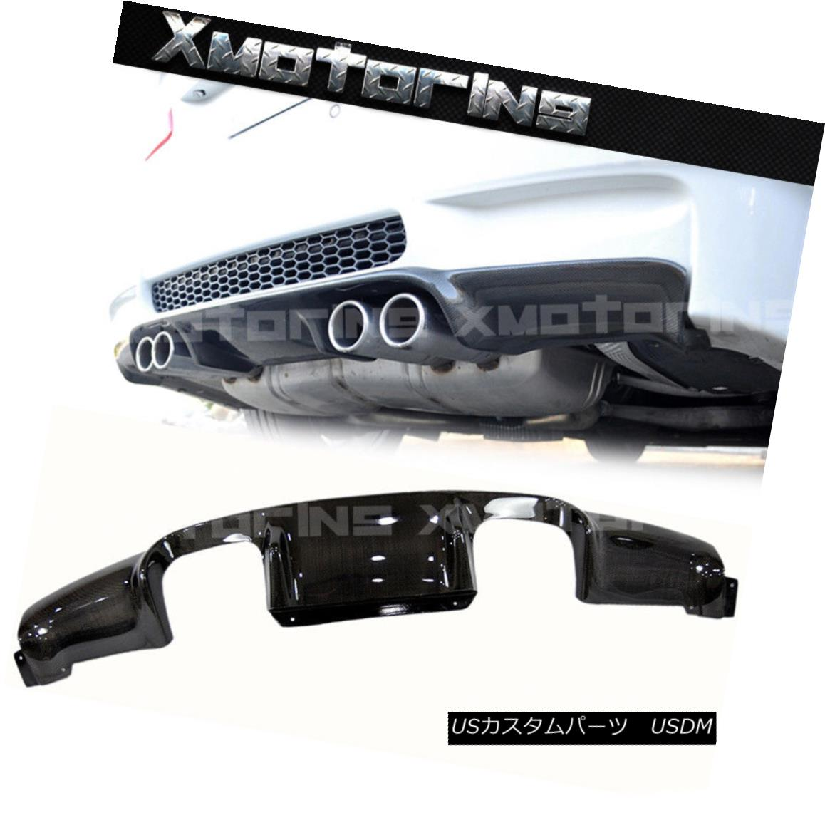 エアロパーツ 3D Type Carbon Fiber Rear Bumper Diffuser For 2008-2013 BMW E93 E92 M3 Coupe 2DR 3Dタイプ炭素繊維リアバンパーディフューザーfor 2008-2013 BMW E93 E92 M3クーペ2DR