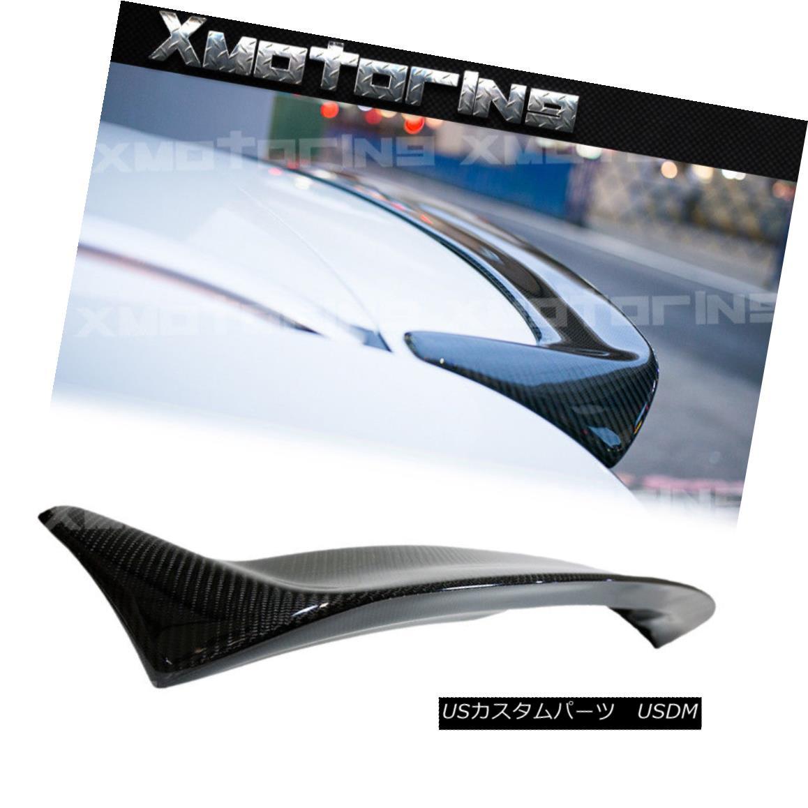 エアロパーツ Carbon Fiber 3D Style Roof Tail Wing Spoiler Fit BMW E91 06-11 3-Series Wagon カーボンファイバー3DスタイルルーフテールウィングスポイラーフィットBMW E91 06-11 3シリーズワゴン