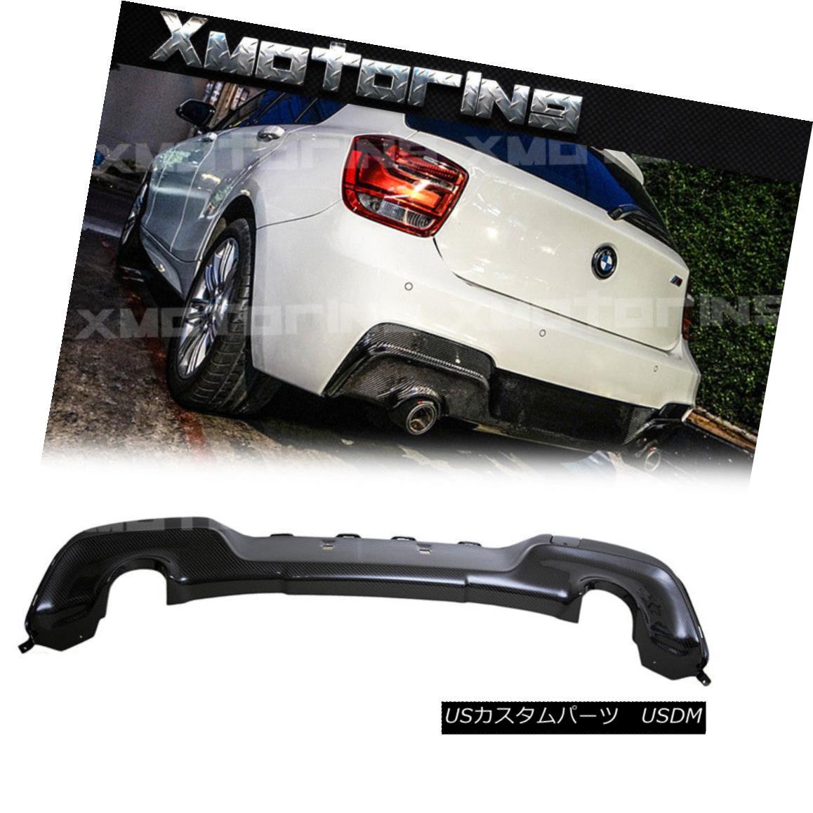 エアロパーツ For BMW 11-14 BMW 11-14 F20 BMW F21 HatchbacK M-Tech Carbon Fiber 3D Look Rear Bumper Diffuser BMW 11-14 F20 F21 HatchbacK M-Tech炭素繊維3Dルックバックディフューザー, OUTFIT:ee1ede6b --- officewill.xsrv.jp