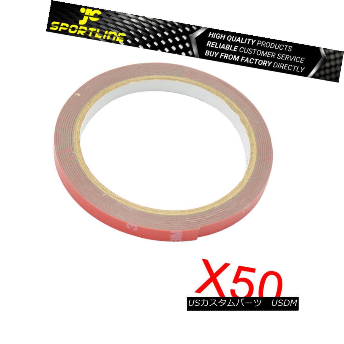 エアロパーツ 3M Double Sided Tape Strong Stickiness ACRYLIC FOAM For Car Auto Truck x50 Roll 3M両面テープ強粘着性ACRYLICフォーム自動車用オートトラックx50ロール用