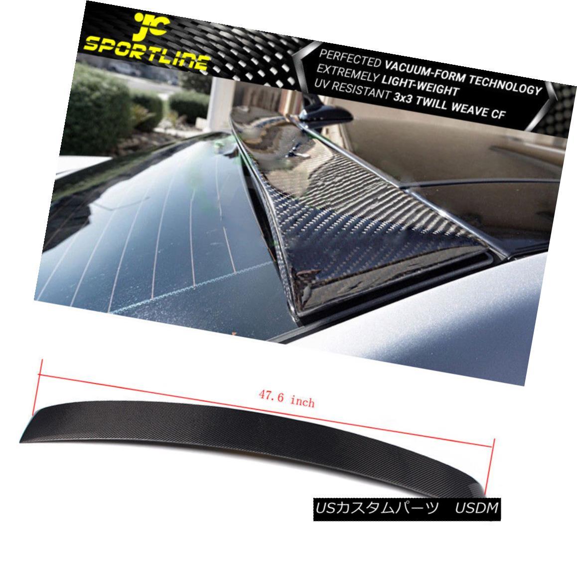 車用品 出群 バイク用品 >> パーツ 外装 エアロパーツ リアスポイラー Fits 10-16 Mercedes-Benz W212 E DR 4 DRリアルーフスポイラーカーボンファイバー Sedan Fiber 市場 フィット10-16メルセデスベンツW212 Roof Rear Spoiler Class Eクラスセダン4 Carbon