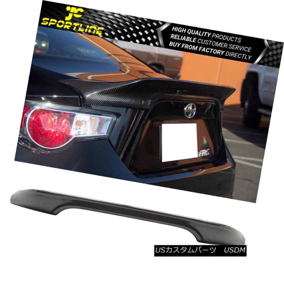 エアロパーツ Fits 13-16 Subaru BRZ Scion FRS Carbon Fiber TR-D STYLE Trunk Rear Wing Spoiler フィット13-16スバルBRZサイオンFRS炭素繊維TRD STYLEトランクリアウィングスポイラー