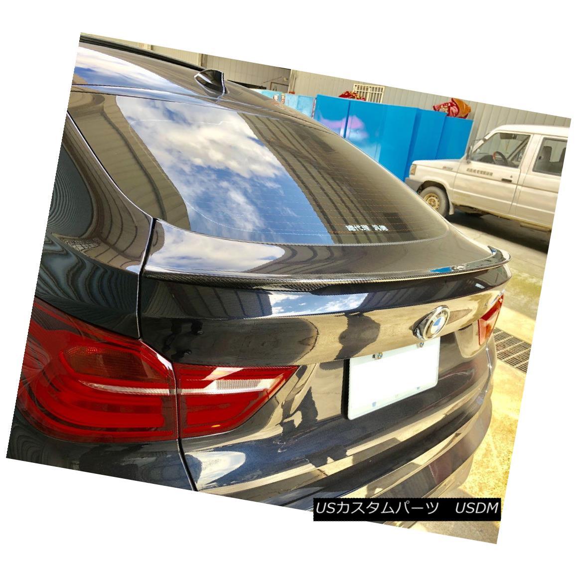 エアロパーツ Carbon Fiber P Style Rear Trunk Spoiler Wing For 14~18 BMW X-Series F26 X4 SUV 14?18台のBMW XシリーズF26 X4 SUV用カーボンファイバーPスタイルリアトランク・スポイラー・ウイング