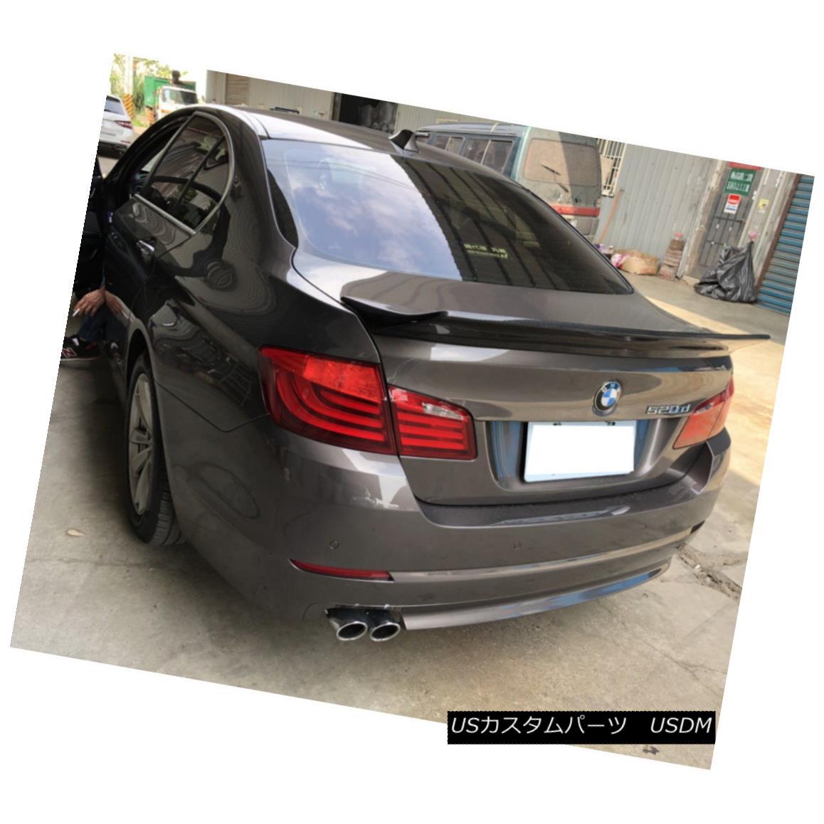 エアロパーツ LB Look Carbon Fiber Rear Trunk Spoiler Wing For BMW 5-Series 2010~16 F10 Sedan LBルックカーボンファイバーリアトランクスポイラーウィングfor BMW 5シリーズ2010?16 F10セダン