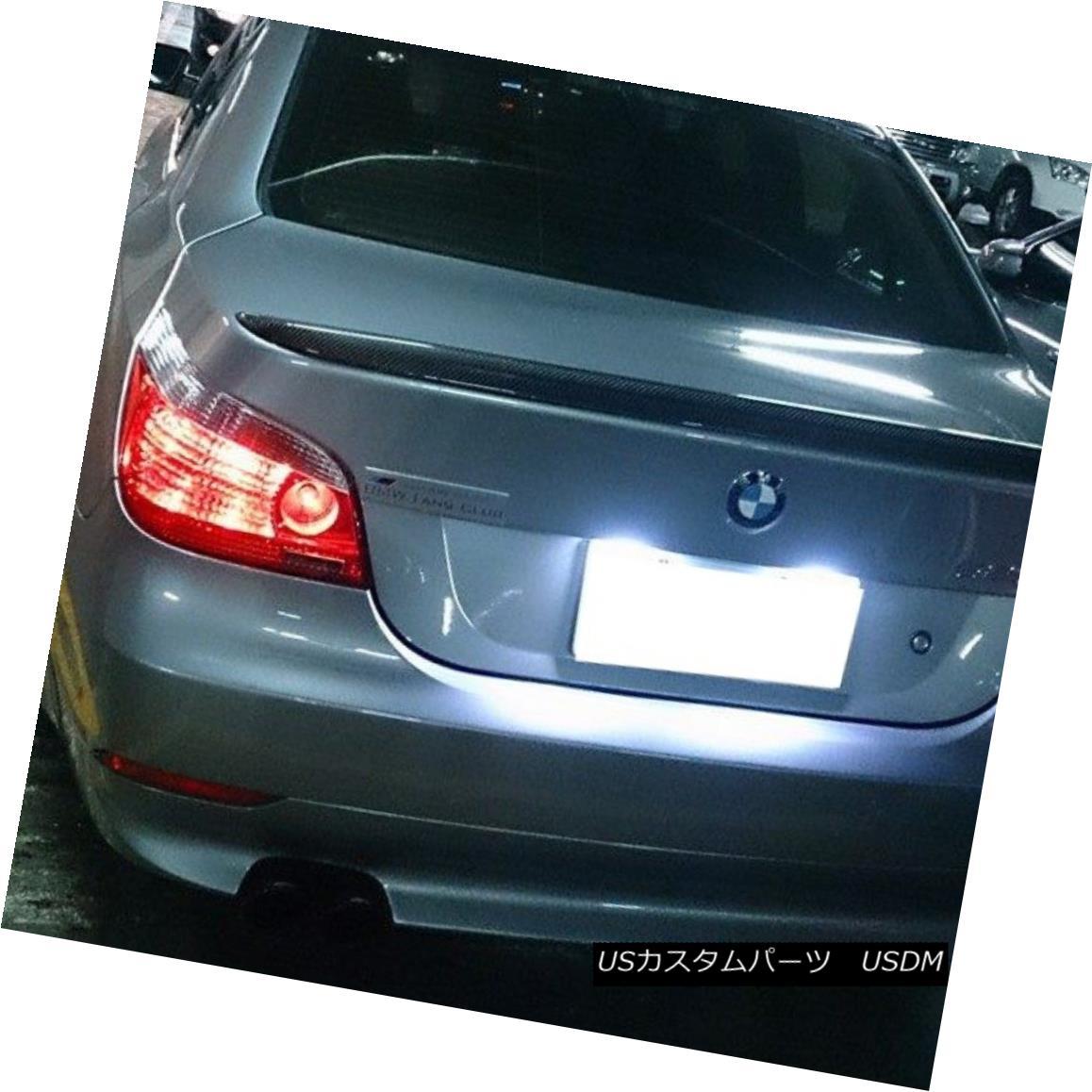 エアロパーツ M5 Type Carbon Fiber Rear Trunk Spoiler Wing For 5-series BMW E60 Sedan 2004~09 BMW E60セダン5シリーズ用M5タイプカーボンファイバーリアトランクスポイラーウィング2004?09