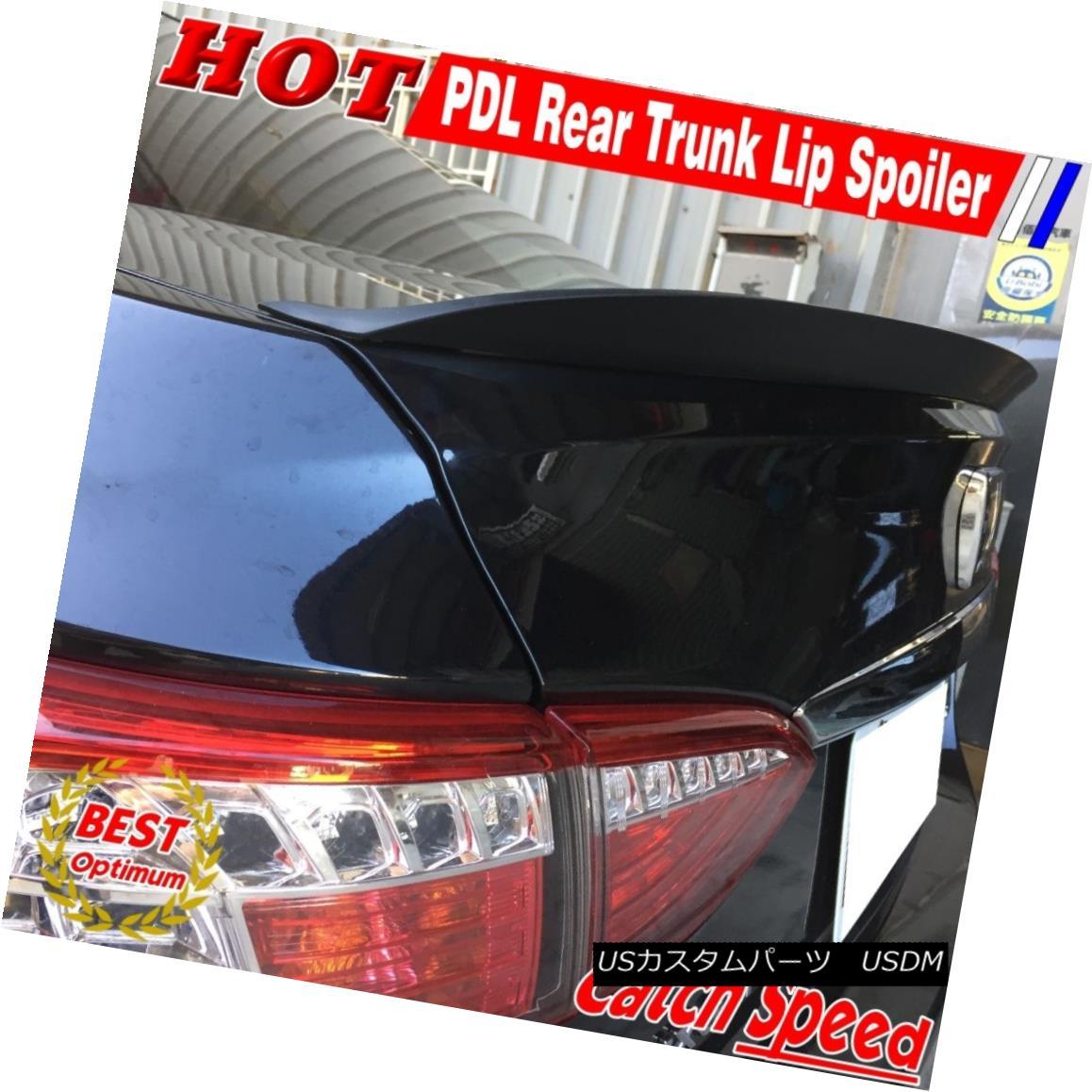 エアロパーツ Painted P Style Rear Trunk Lip Spoiler Wing For Acura TL Type 1999~2003 Sedan ペイントされたPスタイルリアトランクリップスポイラーウイングアキュラTLタイプのための1999?2003セダン