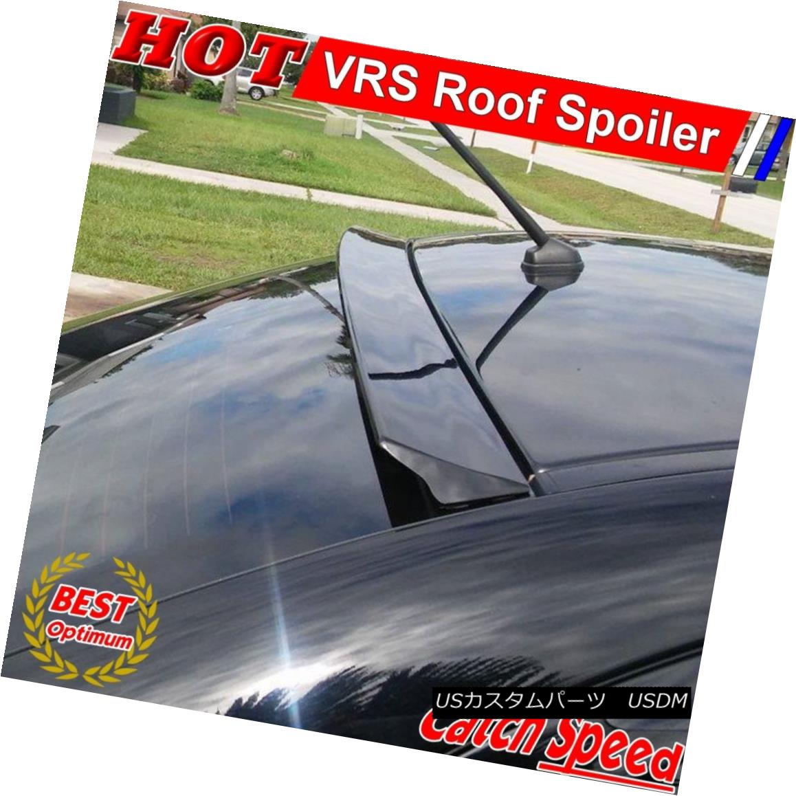 エアロパーツ Flat Black VRS Type Rear Roof Spoiler For NISSAN SENTRA B16 SE-R SEDAN 2007-12 NISSAN SENTRA B16 SE-R SEDAN 2007用フラットブラックVSタイプリアルーフスポイラー