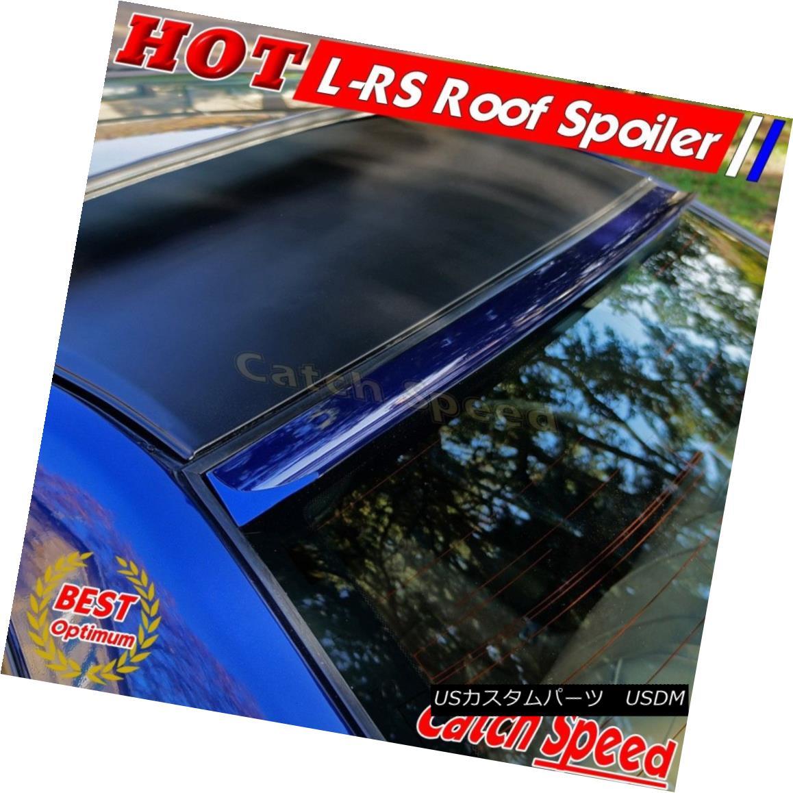 エアロパーツ Painted LRS Type Rear Roof Spoiler For Infiniti M35x M45x 2006 - 2010 Sedan ? インフィニティM35x M45x 2006年 - 2010年セダンのためのペイントされたLRSタイプのリアルーフスポイラー?